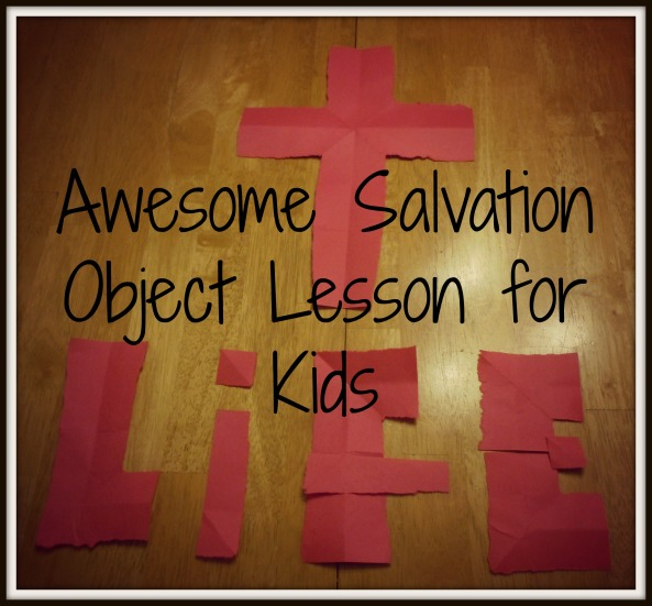 Tell the gospel with this salvation object lesson by folding and tearing a sheet of paper. You don't want to miss this!! GREAT for an Easter Message!