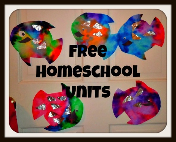 free homeschool units