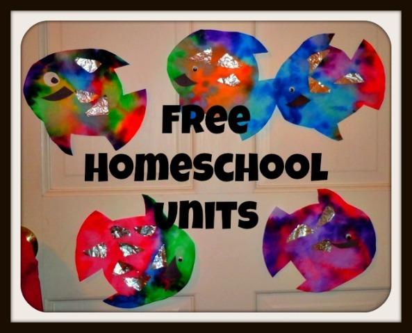free homeschool units