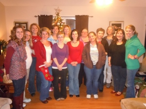 The lovely ladies at the GNO event.