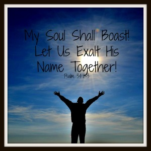 boast in God