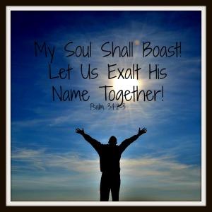 boast in God